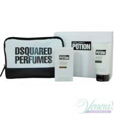 Dsquared2 Potion Комплект (EDP 50ml + Shower Gel 100ml + Bag) за Мъже