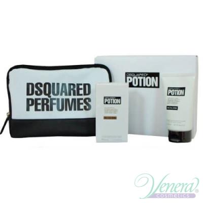 Dsquared2 Potion Комплект (EDP 50ml + Shower Gel 100ml + Bag) за Мъже За Мъже