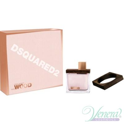 Dsquared2 She Wood Комплект (EDP 100ml + Wood Bracelet) за Жени