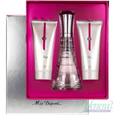 S.T. Dupont Miss Dupont Комплект (EDP 75ml + Body Lotion 75ml+ Shower Gel 75ml)  за Жени