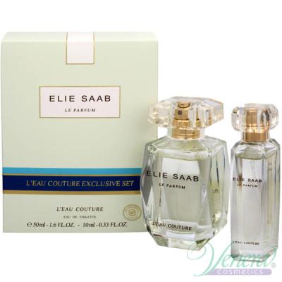 Elie Saab Le Parfum L'Eau Couture Комплект (EDT 50ml + EDT 10ml) за Жени Дамски Комплекти