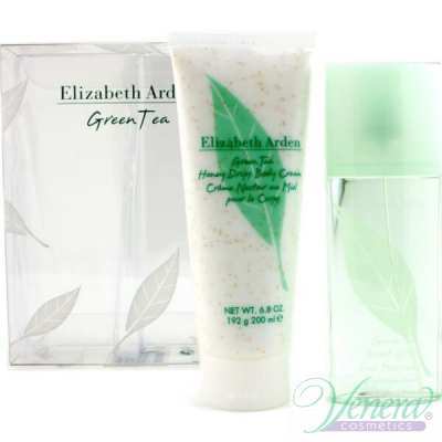 Elizabeth Arden Green Tea Set (EDP 100ml+ BL 200ml) за Жени