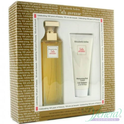 Elizabeth Arden 5th Avenue Set (EDP 75ml + Body Lotion 100ml) за Жени За Жени