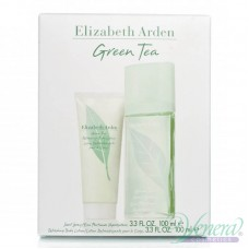 Elizabeth Arden Green Tea Set (EDP 100ml+ BL 100ml) за Жени