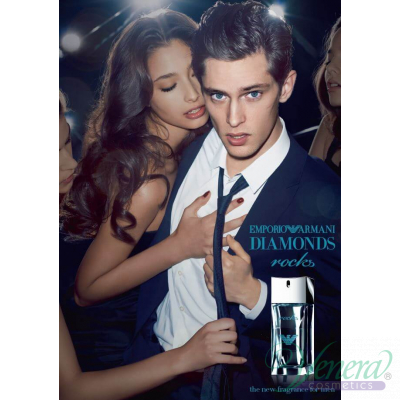 Emporio Armani Diamonds Rocks EDT 75ml за Мъже БЕЗ ОПАКОВКА Мъжки Парфюми без опаковка