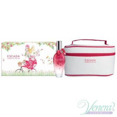 Escada Cherry In The Air Комплект (EDT 30ml + Чанта) за Жени За Жени