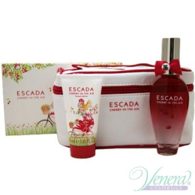 Escada Cherry In The Air Комплект (EDT 50ml + Body Lotion 50ml) за Жени За Жени