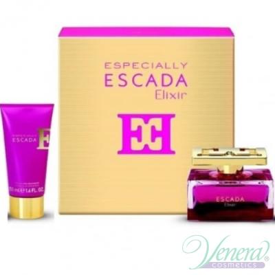 Escada Especially Elixir Комплект (EDP 30ml + Body Lotion 50ml) за Жени За Жени