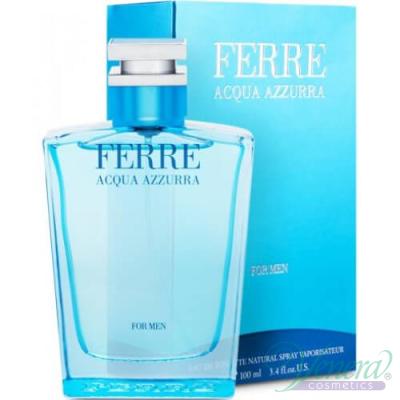 Ferre Acqua Azzurra EDT 100ml за Мъже Мъжки Парфюми