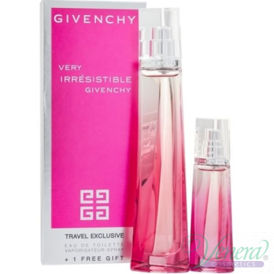 Givenchy Very Irresistible Комплект (EDT 50ml + EDT 15ml) Travel Exclusive за Жени Дамски Комплекти