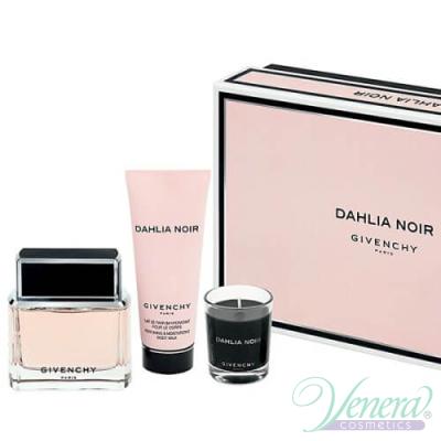Givenchy Dahlia Noir Комплект (EDP 50ml + BL 100ml + ароматизирана свещ) за Жени