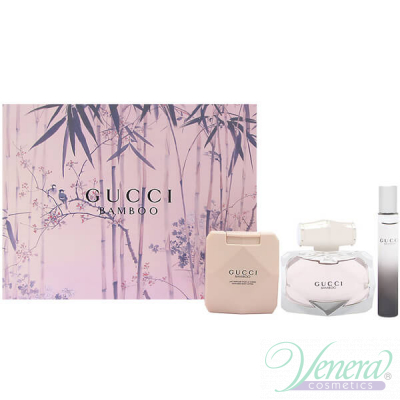 Gucci Bamboo Комплект (EDP 75ml + EDP 7.4ml + BL 100ml) за Жени
