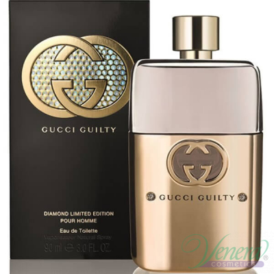 Gucci Guilty Diamond Pour Homme EDT 90ml за Мъже