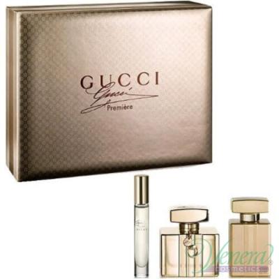 Gucci Premiere Комплект (EDP 75ml + EDP 7,4ml + Body Lotion 100ml) за Жени