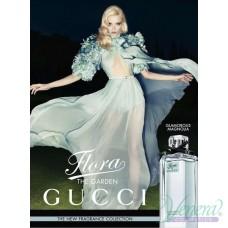 Flora By Gucci Glamorous Magnolia EDT 100ml за Жени БЕЗ ОПАКОВКА