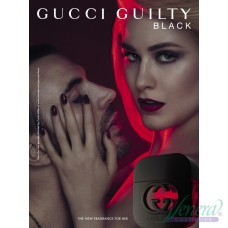 Gucci Guilty Black Pour Femme EDT 50ml за Жени