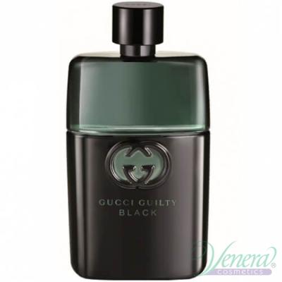 Gucci Guilty Black Pour Homme EDT 90ml за Мъже БЕЗ ОПАКОВКА
