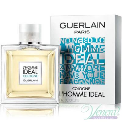 Guerlain L'Homme Ideal Cologne EDT 50ml за Мъже Мъжки Парфюми