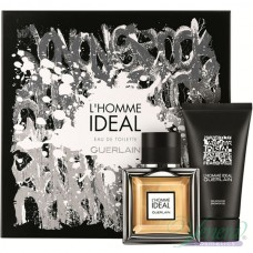 Guerlain L'Homme Ideal Комплект (EDT 50ml + Shower Gel 75ml) за Мъже