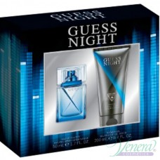 Guess  Night Комплект (EDT 50ml + Shower Gel 200ml) за Мъже