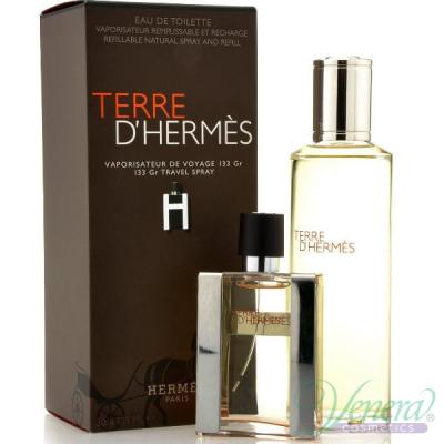 Hermes Terre D'Hermes Комплект (EDT 30ml + EDT 125ml Refill) за Мъже