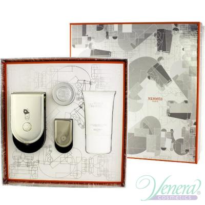 Hermes Voyage D'Hermes Комплект (Pure Parfum 100ml + 5ml + SG 30ml + BL 10ml) за Мъже и Жени Унисекс Комплекти