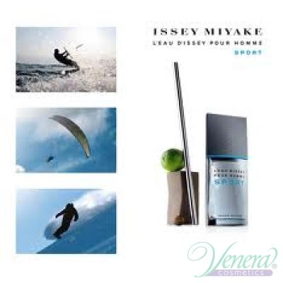 Issey Miyake L'Eau D'Issey Pour Homme Sport EDT 100ml за Мъже БЕЗ ОПАКОВКА