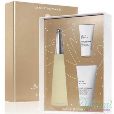 Issey Miyake L'Eau D'Issey Комплект (EDT 50ml + BL 75ml + SG 30ml) за Жени За Жени
