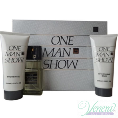 Jacques Bogart One Man Show Комплект (EDT 100ml + AS Balm 200ml +SG 200ml) за Мъже