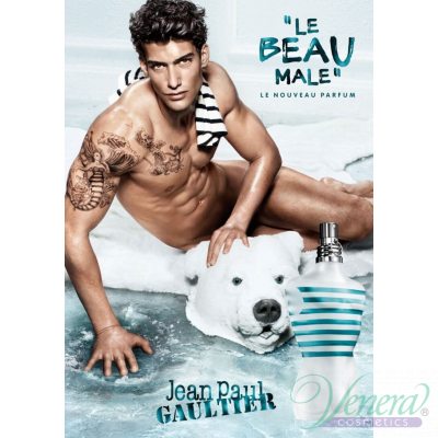Jean Paul Gaultier Le Beau Male EDT 125ml за Мъже БЕЗ ОПАКОВКА Мъжки Парфюми без опаковка