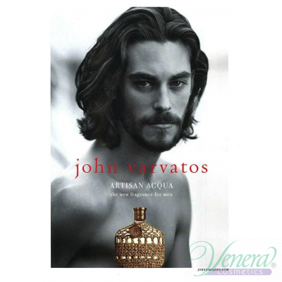 John Varvatos Artisan Acqua EDT 125ml за Мъже БЕЗ ОПАКОВКА Мъжки Парфюми без опаковка