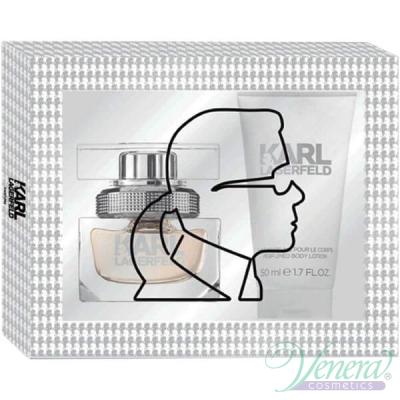 Karl Lagerfeld for Her Комплект (EDP 25ml + BL 50ml) за Жени Дамски Комплекти