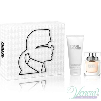 Karl Lagerfeld for Her Комплект (EDP 45ml + BL 100ml) за Жени Дамски Комплекти