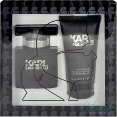 Karl Lagerfeld for Him Комплект (EDT 30ml + Shower Gel 50ml) за Мъже Мъжки Комплекти