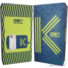 Kenzo L'Eau 2 Комплект (EDT 50ml + Fashion Pouch) за Мъже