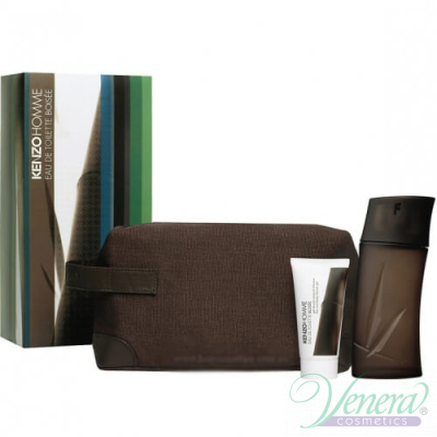 Kenzo Pour Homme Boisee Комплект (EDT 100ml + SG 75ml + Bag) за Мъже За Мъже