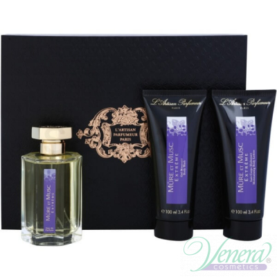 L'Artisan Parfumeur Mure et Musc Extreme Комплект (EDP 100ml + BL 100ml + SG 100ml) за Мъже и Жени Унисекс Парфюми