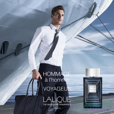 Lalique Hommage à L'Homme Voyageur EDT 50ml за Мъже  Мъжки Парфюми