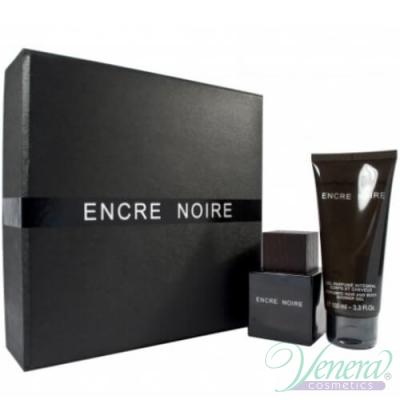 Lalique Encre Noire Комплект (EDT 50ml + SG 100ml) за Мъже
