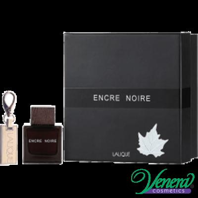 Lalique Encre Noire Комплект (EDT 100ml + Ключодържател) за Мъже За Мъже