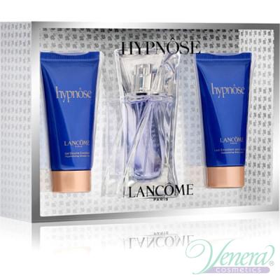 Lancome Hypnose Комплект (EDP 30ml + BL 50ml + SG 50ml) за Жени Дамски Парфюми