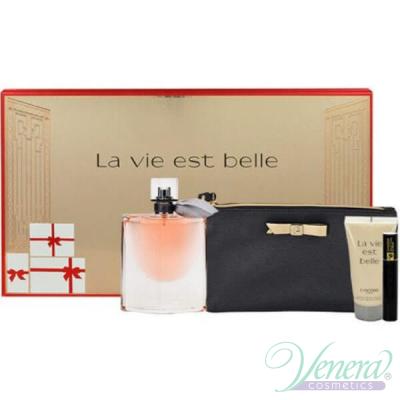 Lancome La Vie Est Belle Комплект (EDP 50ml + Body Lotion 50ml + Mascara 2ml + Bag) за Жени Дамски Комплекти