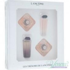 Lancome Les Tresors de Lancome Комплект 4 Миниатюри (EDP 5ml + EDP 7.5ml + EDP 7.5ml + EDP 5ml) за Жени