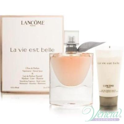 Lancome La Vie Est Belle Комплект (EDP 50ml + Body Lotion 50ml) за Жени За Жени