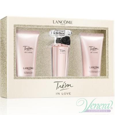 Lancome Tresor In Love Комплект (EDP 30ml + BL 50ml + SG 50ml) за Жени За Жени