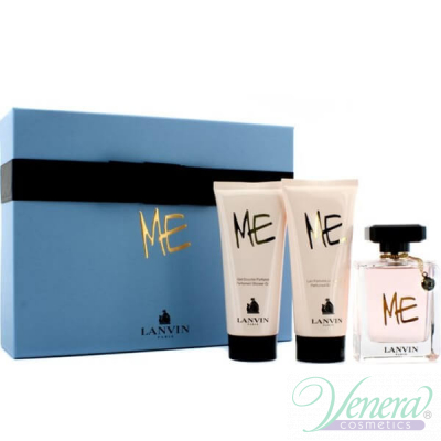 Lanvin Me Комплект (EDP 80ml + Body Lotion 100ml + Shower Gel 100ml) за Жени За Жени