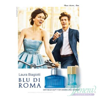 Laura Biagiotti Blu Di Roma Uomo EDT 125ml за Мъже БЕЗ ОПАКОВКА