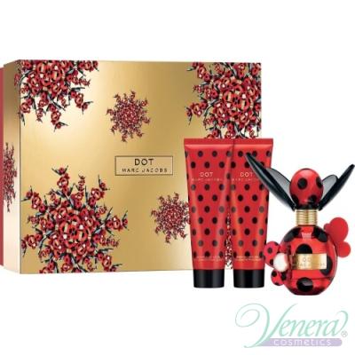 Marc Jacobs Dot Комплект (EDP 50ml + BL 75ml + SG 75ml) за Жени За Жени