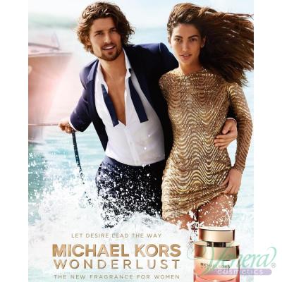Michael Kors Wonderlust Комплект (EDP 50ml + Rollerball EDP 10ml + Card Wallet) за Жени Дамски Комплекти