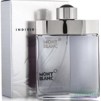 Mont Blanc Individuel EDT 50ml за Мъже Мъжки Парфюми